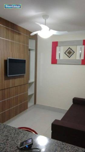 Apartamento Com 1 Dormitório À Venda, 28 M² Por R$ 158.000,00 - Jardins Diroma - Caldas Novas/go - Ap0805