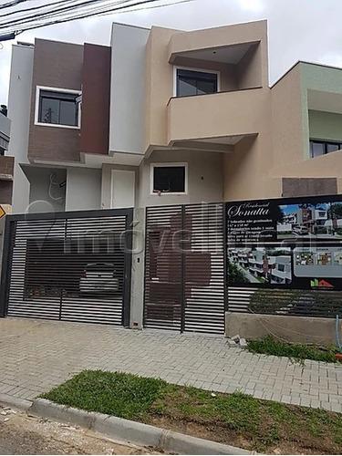Sobrado Em Condomínio Com 3 Dormitórios À Venda Por R$ 595.000,00 No Bairro Campo Comprido - Curitiba / Pr - So0092