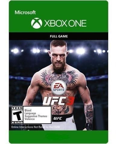 Ufc 3 Xbox One Midia Digital