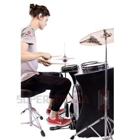 Kit Extreme Drumbox Jaguar + Pedal + Sup.prato + Máq.chimbal