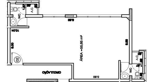 Vila Bastos - Sala Comercial De 55m² - 54715