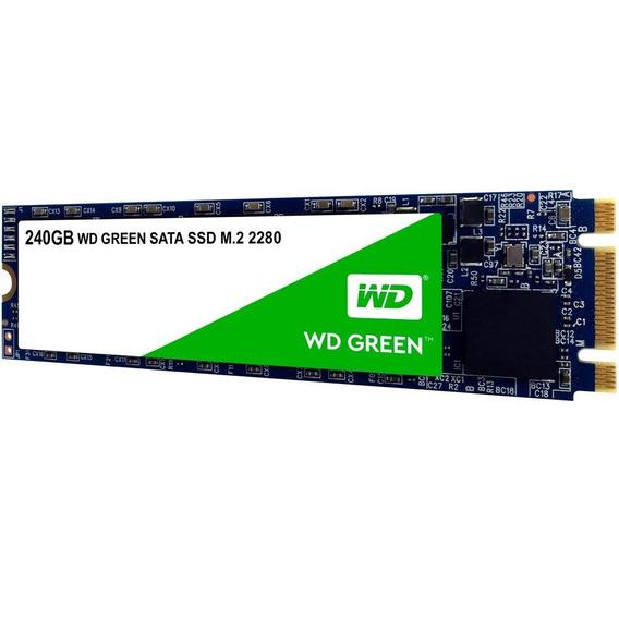 Ssd Wd Green M.2 2280 240gb - Wds240g2g0b - Wd