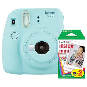 Kit Câmera Instax Mini 9+filme 20 Folhas+varal Brinde