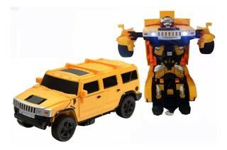 Auto Transformer A Control Remoto Robot - Muebles Web