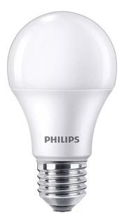 Lampara Led Philips 9w 10w = 60w E27 Casa 220v