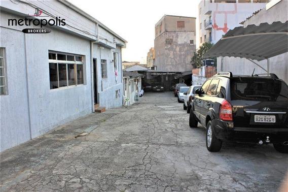 Terreno Residencial À Venda, Cerâmica, São Caetano Do Sul. - Te0073