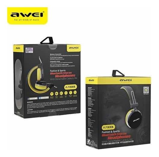 Awei A700bl Fones De Ouvido Bluetooth Estéreo Sem Fio
