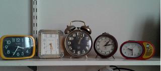 Lote De Relojes Despertador Antiguos