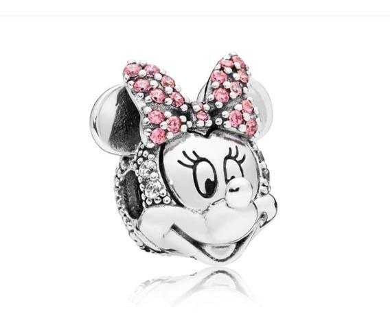 Clip De Mickey O Minnie Con Brillo Original Pandora Sin Caja