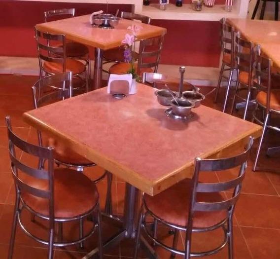 Remato Mobiliario Restaurante (mesas, Refris, Loza, Salseras