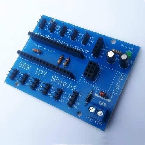Iot Shield Para Esp8266 E Arduino Nano
