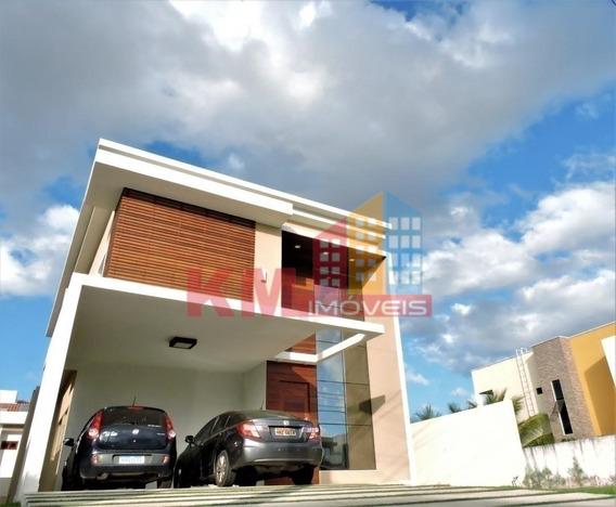 Vende-se Belíssima Casa No Alphaville Mossoró - Ca2603