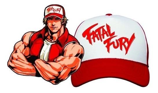 Gorra De Terry Bogard! Fatal Fury! Envío Gratis!