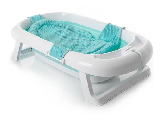 Banheira Dobrável Comfy & Safe Aqua Green Safety 1st