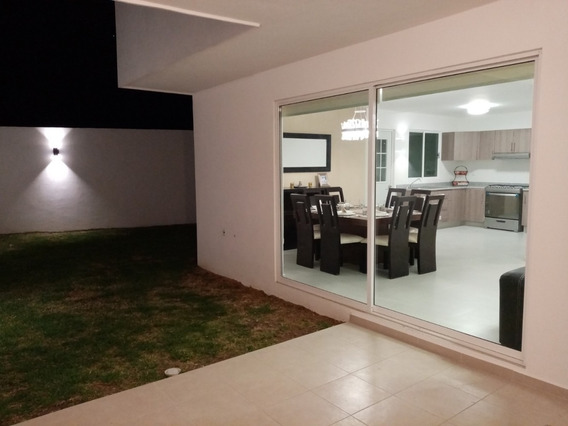 Casa En Tlaxcala Tres Recamaras Amplia Con Jardin 31/2 Baños