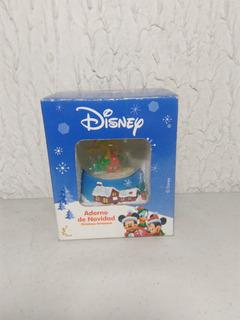 Adorno De Navidad Bola De Nieve Pluto De Disney