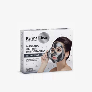 Mascara Con Glitter Farma Clean - Anti Gravedad