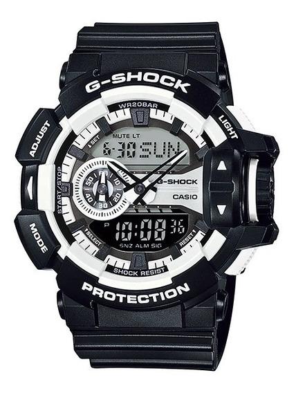 Promoção Relógio Casio G-shock Anadigi Ga-400-1adr Original