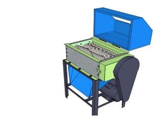 Kit Planos Máquina Trituradora Caucho Huesos Vidrio Piedras