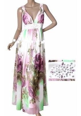 Vestido Estampado De Gasa7