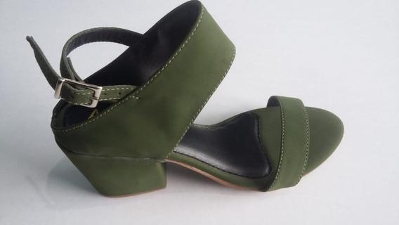 Sapato Feminino Sandália De Saltinho Tamanco 20% Off