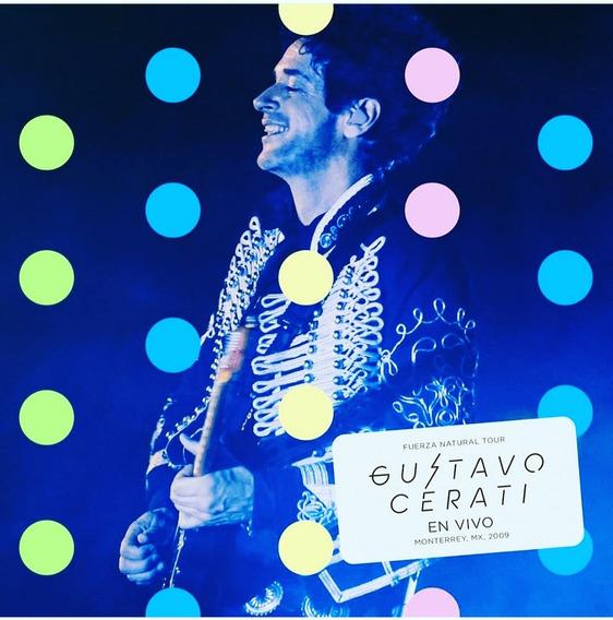 Gustavo Cerati Fuerza Natural Monterrey X2 Cds + Dvd Kktus
