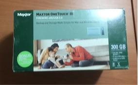 Hd Externo Maxtor 300 Gb Firewire 400 E Usb 2.0