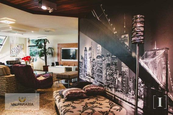 Casa Com 4 Dormitórios À Venda, 1200 M² Por R$ 3.200. - Bosque Dos Eucaliptos - São José Dos Campos/sp - Ca0142