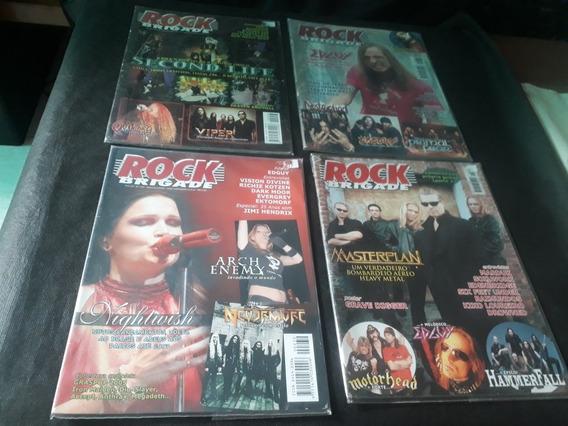 Revista Rock Brigade 2005 E 2007