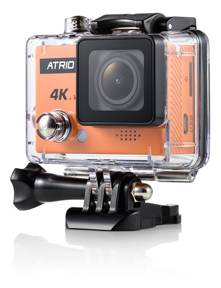 Câmera De Ação Fullsport Cam 4k - Atrio Dc185