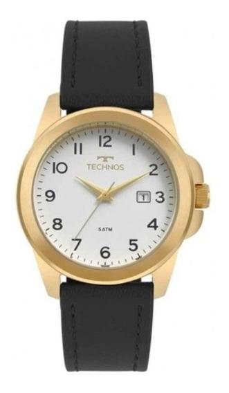 Relógio Technos Masculino Clássico Em Couro 2115mqj/2b