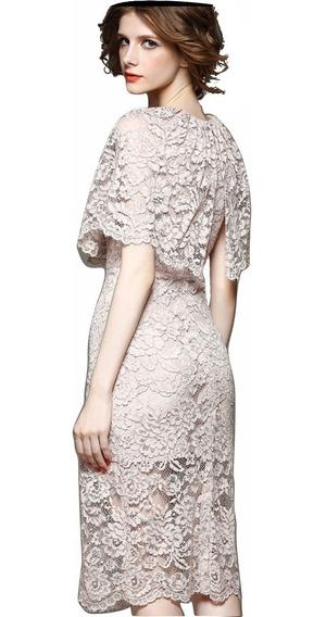 Diseño. Vestido Importado Casamiento Coctel Civil 10 % Off