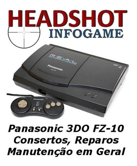 Consertos Manutenção Reparos Panasonic 3do Fz1 Fz10 Goldstar