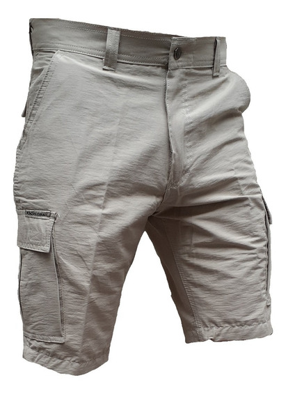 Bermuda Cargo Explora Secado Rapido Hombre Pantalon Bolsillo