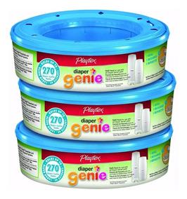 3 Refil Diaper Genie Saco Lixo - Ja No Brasil - Frete Gratis
