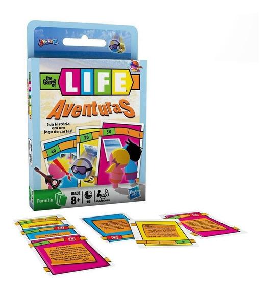 Jogo De Cartas The Game Of Life - Aventuras 4 Disponiveis