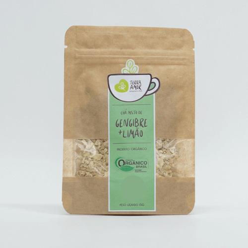 Chá Misto Gengibre E Limão Orgânico 15g (01 Unidade)