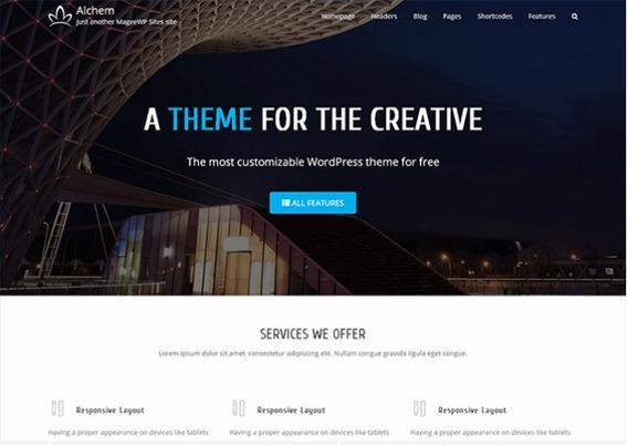 Alchem Tema Pro Wordpress