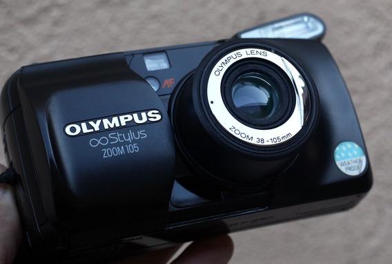 Câmera Olympus Stylus (mju) Zoom 38x105mm Leia A Descrição!