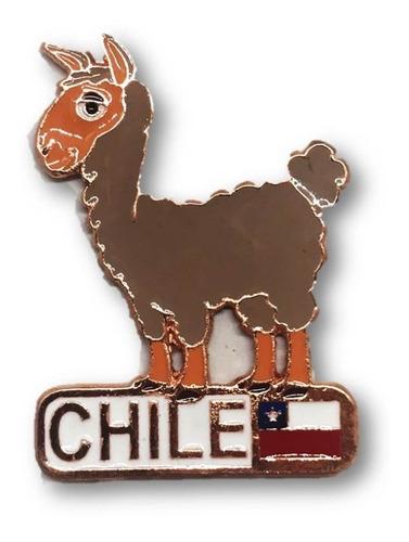 Magnético Alpaca Chile Cobrizado