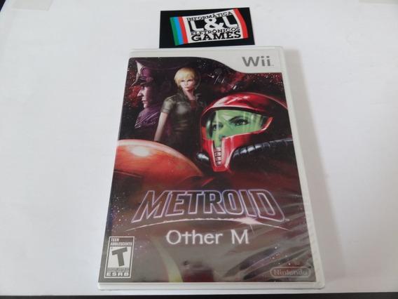 Metroid Other M Wii Mídia Física Novo Lacrado