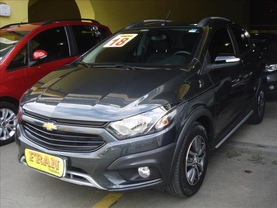 Chevrolet Onix Activ Automático Motor 1.4 2018 Cinza