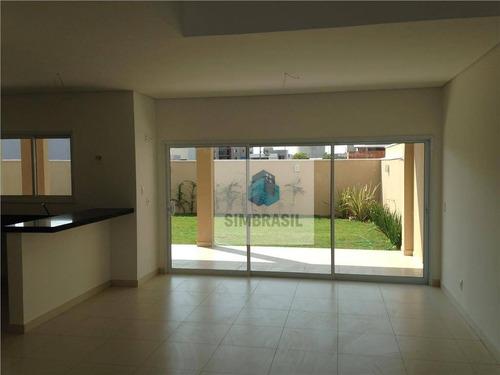 Imagem 1 de 17 de Casa No Residencial Real Parque -  Sumaré. - Ca0070