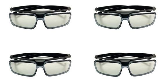 Kit 4 Óculos 3d Passivo Sony Tdg-500p