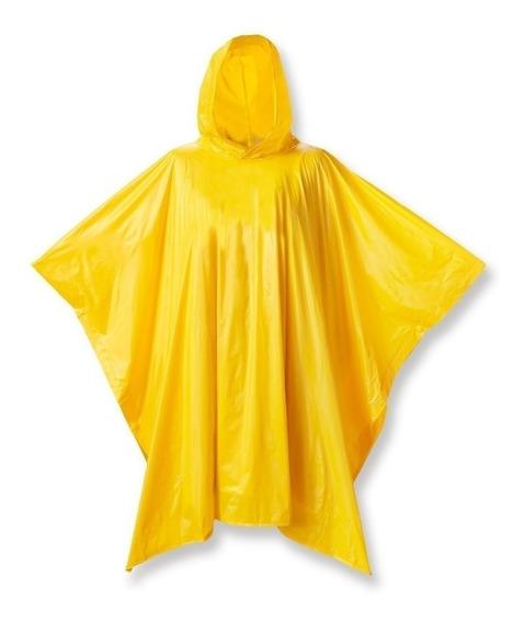 Poncho De Lluvia Emergencia Amarillo Gaucho Gau11720am