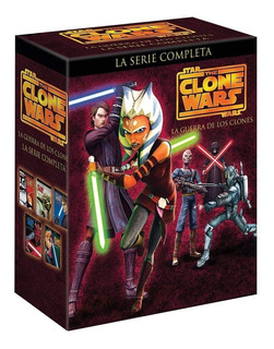 The Clone Wars La Serie Completa Dvd Temporadas 1 - 5