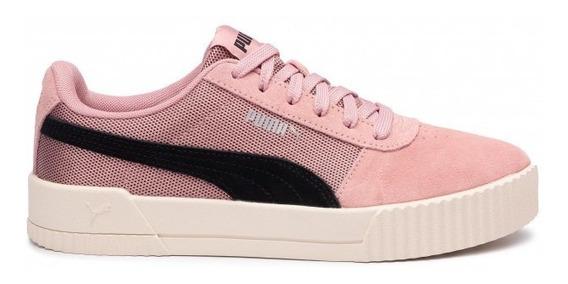 Tênis Puma Carina Lux Sd Rosa 100% Original