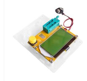 Medidor Esr Meter Lcr-t4 - Res./cap./indut / + Case Acrilico