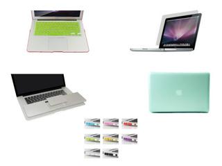 Macbook Case Pro 13 A1278 Teclado Mica Palmguard Puertos