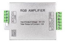 Controlador Amplificador Rgb Hxamf 144w - Las Piedras